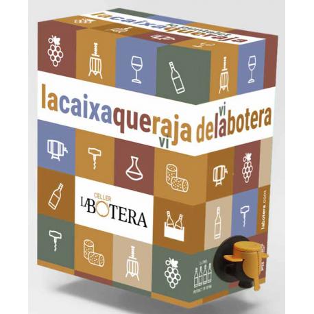 BAG IN BOX NEGRE 3 L LA BOTERA TERRA ALTA