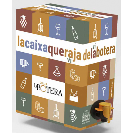 BAG IN BOX RED WINE 3L LA BOTERA TERRA ALTA