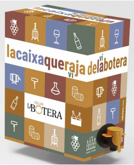 BAG IN BOX WHITE WINE 3 L LA BOTERA TERRA ALTA